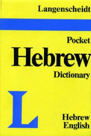 Langenscheidt's Pocket Dictionary Hebrew 9780887290824