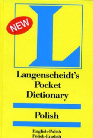 Langenscheidt's Pocket Dictionary Polish: English-Polish/Polish-English 9780887290176