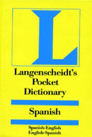 Langenscheidt's Pocket Dictionary Spanish: Spanish-English, English-Spanish 9780887291036