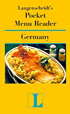 Langenscheidt's Pocket Menu Reader Germany 9780887293108