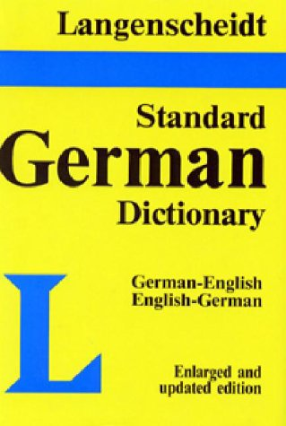 Langenscheidt's Standard German Dictionary: German-English English-German 9780887290435