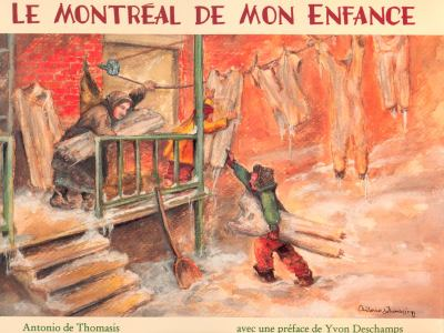 Le Montreal de Mon Enfance 9780887763434
