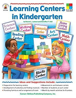 Learning Centers in Kindergarten 9780887242113