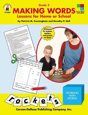 Making Words: Grade 2: Lessons for Home or School 9780887246616