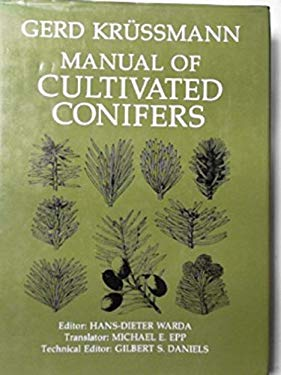 Manual of Cultivated Conifers 9780881920079