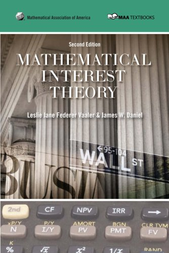 Mathematical Interest Theory 9780883857540