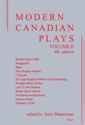 Modern Canadian Plays 9780889224377