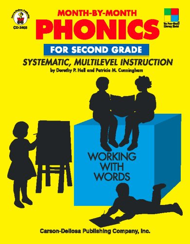 Month-By-Month Phonics for Second Grade: Systematic, Multilevel Instruction for Second Grade 9780887244926