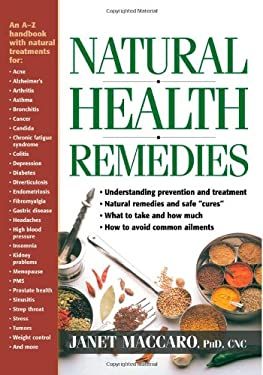 Natural Health Remedies: An A-Z Family Guide 9780884199304