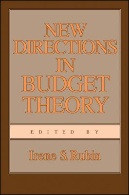 New Directions in Budget Theory 9780887066245
