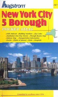 New York City 5 Borough Pocket Atlas 9780880978002