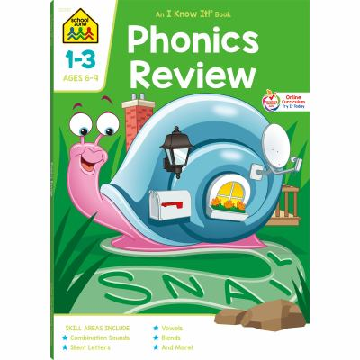 Phonics Deluxe: Blends and Review 9780887437724