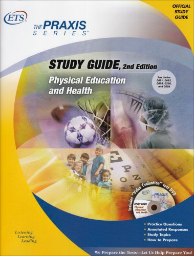 Physical Education and Health Study Guide 9780886852573