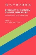 Readings in Modern Chinese Literature 9780887100710