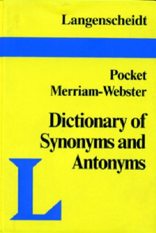 Pocket Guide to Synonyms and Antonyms 9780887292200
