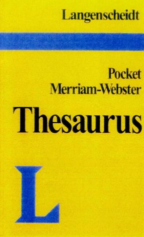 Pocket Thesaurus 9780887292194