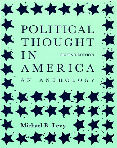 Political Thought in America: An Anthology 9780881336887
