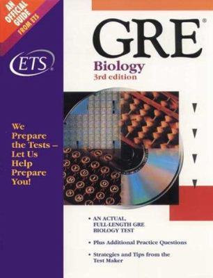 Practicing to Take the GRE: Biology Test 9780886851897