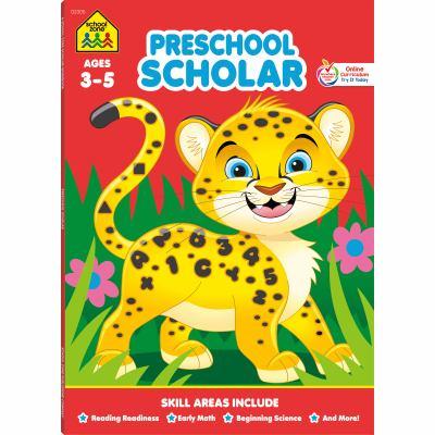 Preschool Scholar: Ages 3-5 9780887434952