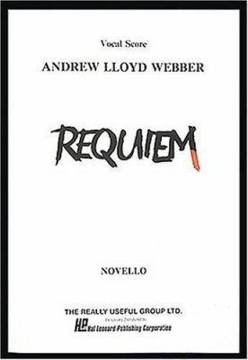 Requiem: Vocal Score 9780881884739