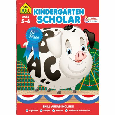 Scholar Series Workbooks: Kindergarten 9780887434914