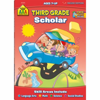 Scholar Series Workbooks: 3rd Grade 9780887434945