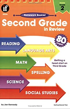 Second Grade in Review Homework Booklet 9780880129510
