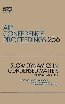 Slow Dynamics in Condensed Matter 9780883189382