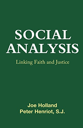 Social Analysis: Linking Faith and Justice 9780883444627