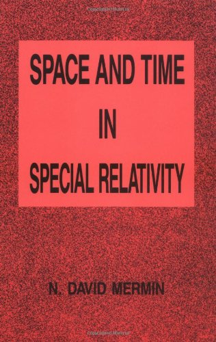 Space and Time in Special Relativity 9780881334203
