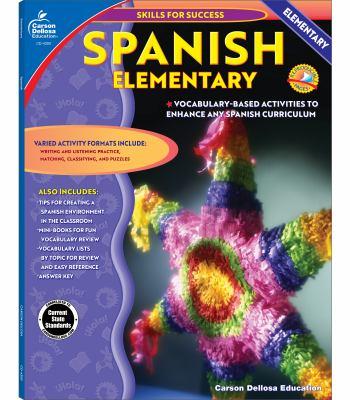 Spanish, Grades 1 - 5: Elementary 9780887247576