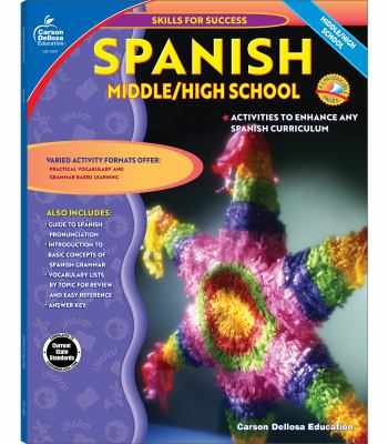Spanish, Middle / High School: Middle / High School 9780887247583