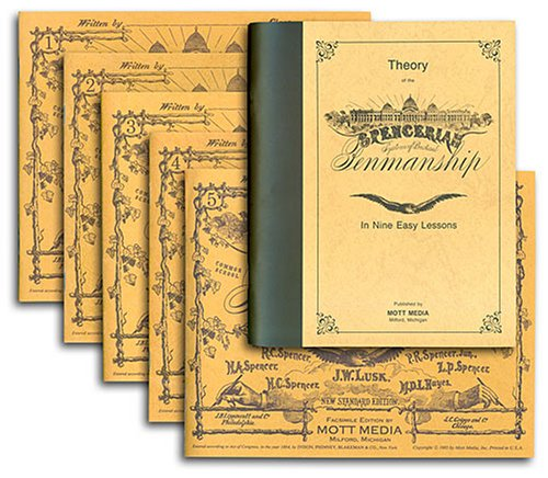 Spencerian Theory Book Set 9780880620963