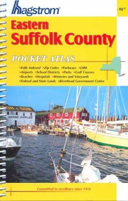 Suffolk County NY (Eastern) Pocket Atlas 9780880978224