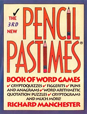 The 3rd New Pencil Pastimes: Book of Word Games 9780884863762
