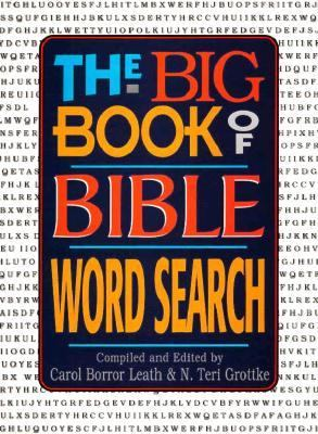 The Big Book of Bible Word Search 9780884861645