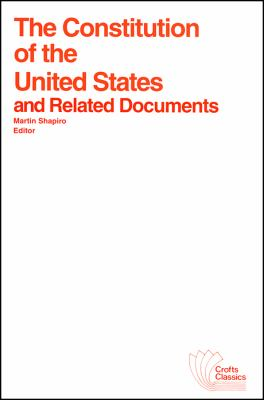 The Constitution of the U.S. 9780882950259