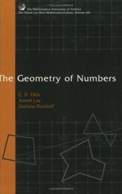 The Geometry of Numbers 9780883856437