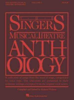 The Singer's Musical Theatre Anthology - Volume 1: Tenor Book Only