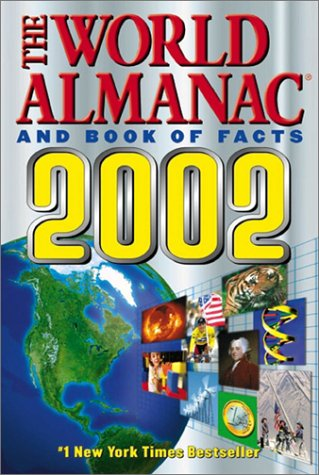 The World Almanac and Book of Facts 2002 9780886878726