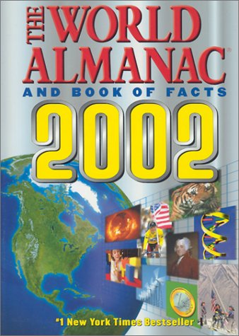 The World Almanac and Book of Facts 2002 9780886878740