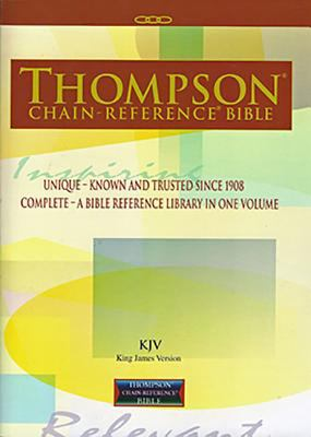 Thompson Chain-Reference Bible-KJV 9780887076091