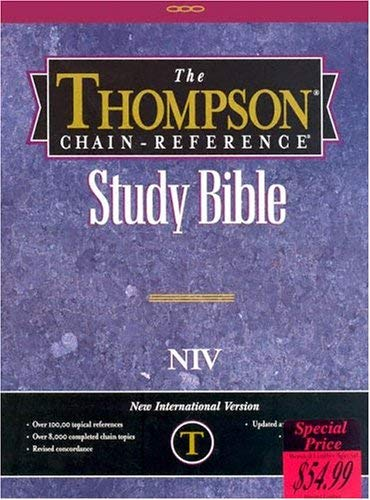 Thompson Chain Reference Bible-NIV 9780887073311