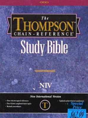 Thompson Chain Reference Bible-NIV 9780887075322