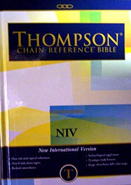 Thompson Chain Reference Bible-NIV 9780887070082