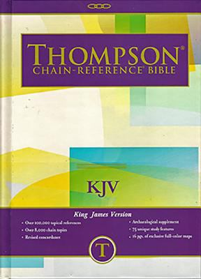 Thompson Chain Reference Bible-KJV 9780887071225