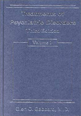 Treatments of Psychiatric Disorders (2-Volume Set) 9780880489102