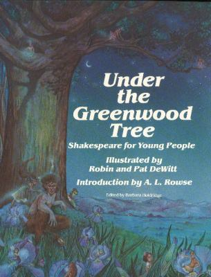 Under the Greenwood Tree [With Book] 9780880451031