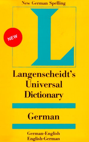 Universal German-English Dictionary 9780887291227