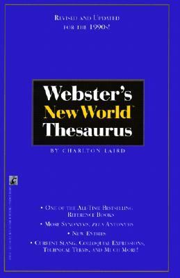 Webster's New World Thesaurus 9780881037425